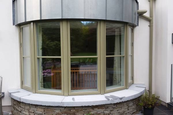 Aluclad Bay Window