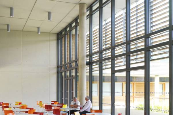 VELFAC V200I Curtain Walling Angular Glazing Ireland
