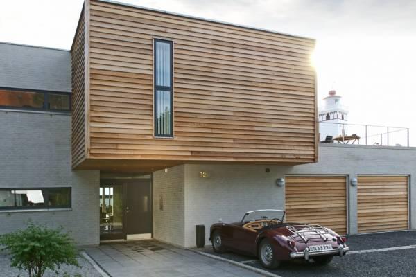 VELFAC V600 Timber Flush Front Door - Entrance and Glazed Doors Ireland
