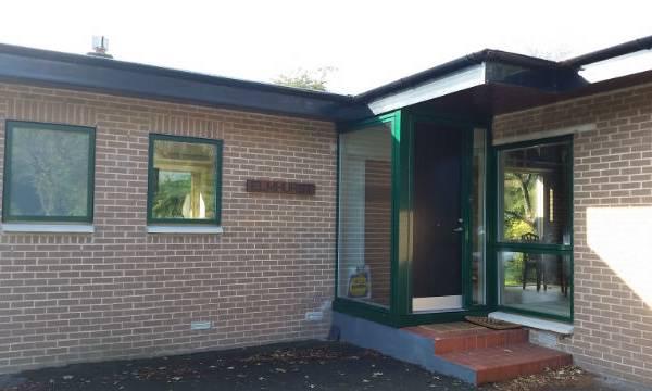 Front Door Green