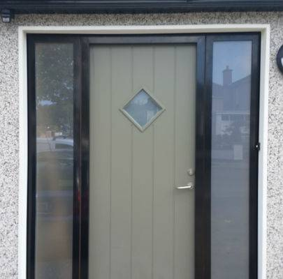 Front Door With Glass Panel