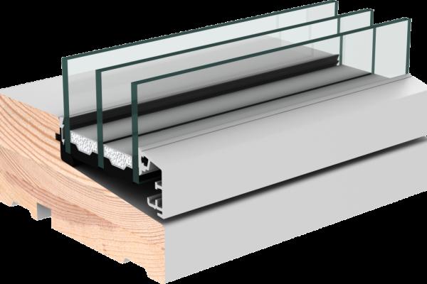 VELFAC 200i Aluwood and Alu-clad Double Glazed Windows and Doors Timber Interior