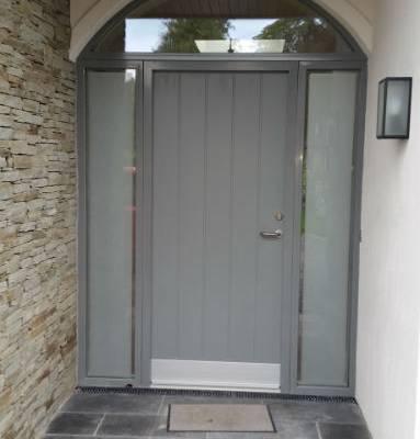 front door -