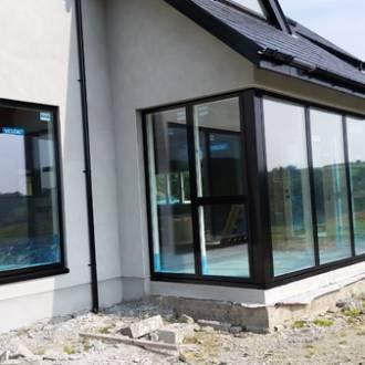 Doubled Glazed VELFAC V200i Bay Window