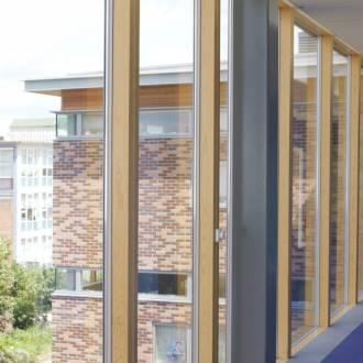 Aluwood Windows Double Glazed with Warm Timber Interior