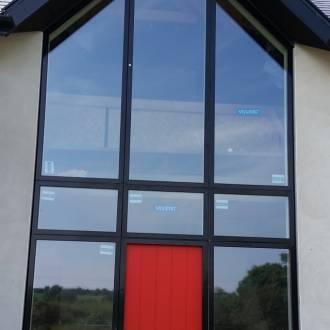 Angular Aluwood Windows VELFAC V200i Ireland