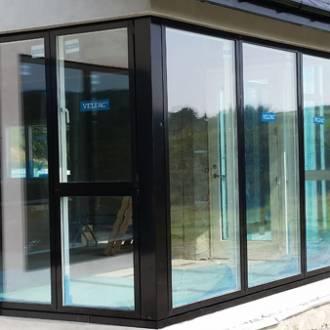 Conservatory with VELFAC V200i Composite Windows