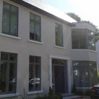 VELFAC V200 Aluwood Triple Glazed Windows ( Colour is RAL7033 Cement Grey)