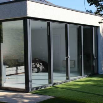 VELFAC V200 Garden room extension. South Dublin