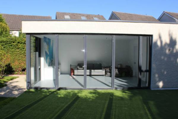 VELFAC Sliding Doors Sunroom - Windows and Doors Dublin