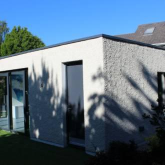 Glazed Garden Room Extention - VELFAC Windows and Doors Dublin