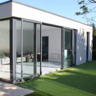 Garden Room Sliding Doors - VELFAC Aluclad Sliding Doors