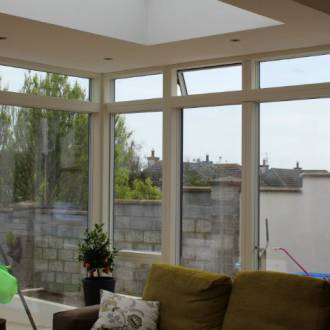 Velfac V200 Aluwood Sunroom