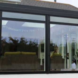 VELFAC V200 Aluwood Windows - Sunroom