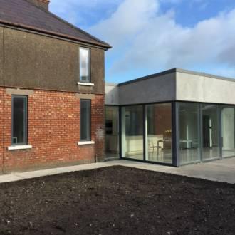 Renovation & Extension project VELFAC V200 Aluwood Windows